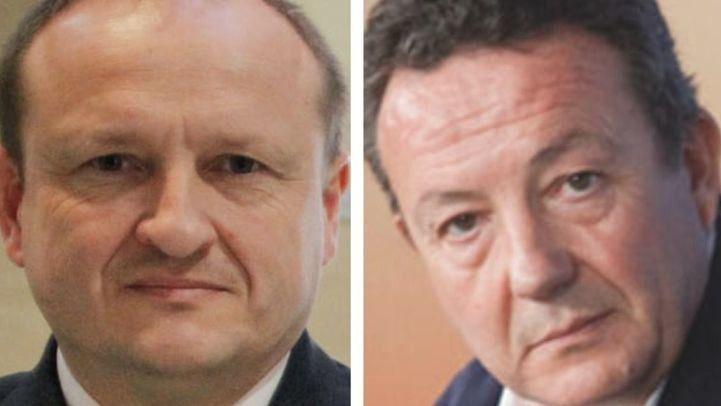 Los concejales Miguel Ángel Redondo (Ciudadanos) e Íñigo Henríquez de Luna (PP).
