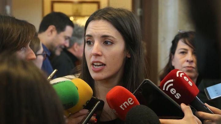 Irene Montero no ha descartado el pacto con Errejón para las autonómicas de mayo