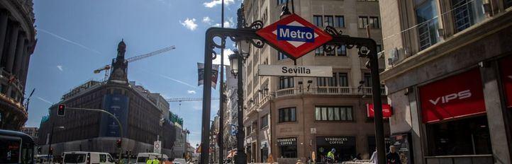 El tramo de Metro Sol-Retiro permanecerá semanas cerrado