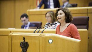 Pilar Garrido sustituirá a Ramón Espinar en el Senado