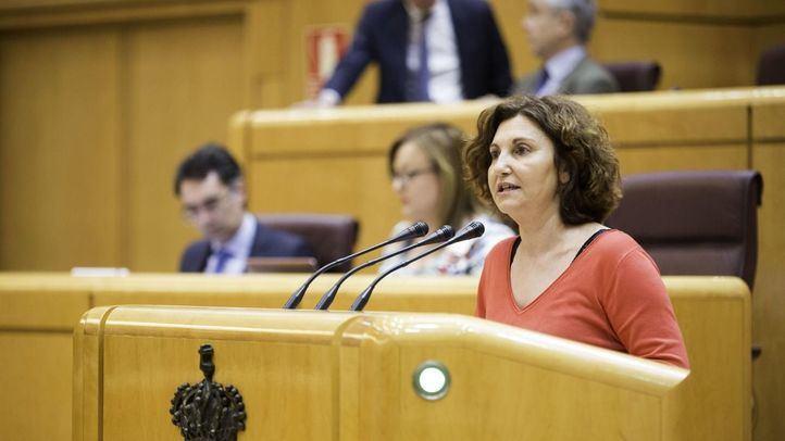 La senadora de Guipúzcoa, Pilar Garrido.