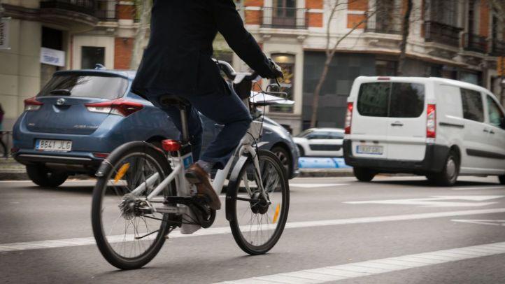 El carril bici de Castellana, entre lo más votado
