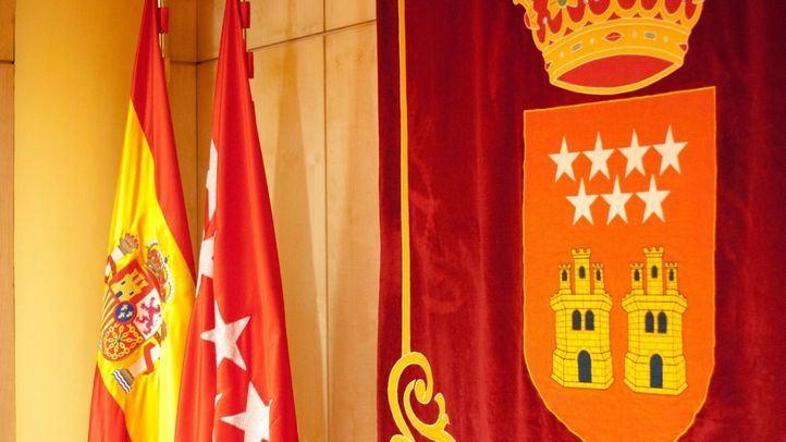 La bandera de la Comunidad de Madrid se izó por primera vez el 31 de enero de 1984