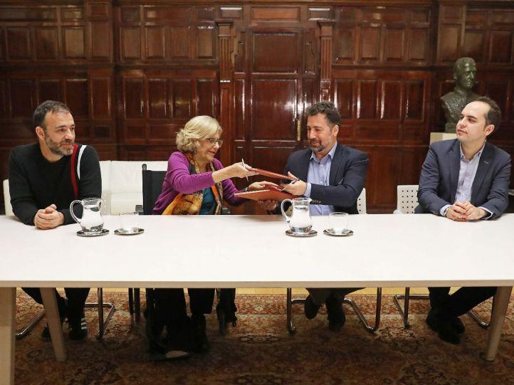 Madrid y Rivas 'liberan' la Cañada Real y establecen el límite territorial en la M-50