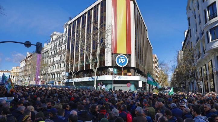 Desconvocada la concentración de Génova: el gesto de los taxistas para negociar