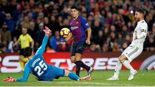 FC Barcelona vs Real Madrid en semifinales de la Copa del Rey.