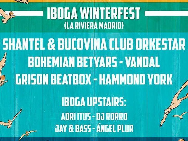 Iboga Winter Fest: una cita para mover el esqueleto