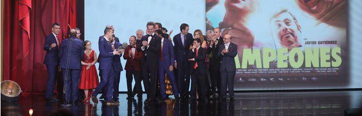 Campeones se alza como mejor película en los Goya de la