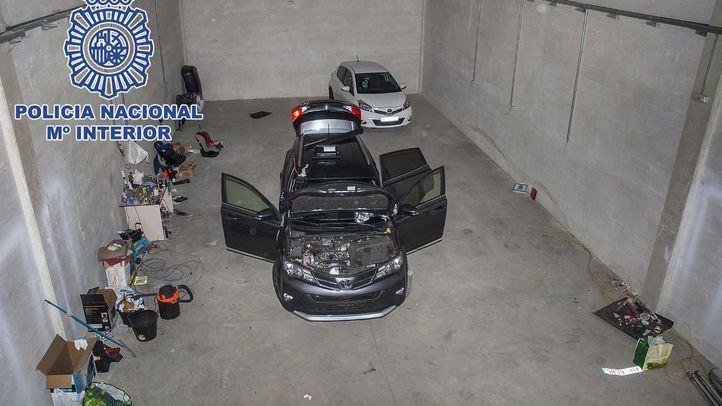 Desarticulada una organización dedicada al robo y falsificación de vehículos