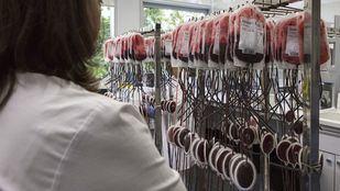 Banco de sangre del Centro de Transfusión de la Comunidad de Madrid.