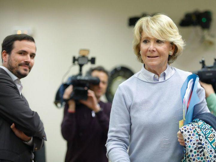 El PP de Aguirre, acusado de encubrir la Gürtel con el caso de espionaje político
