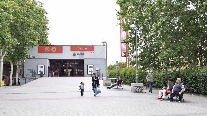 Estación de Renfe Delicias.