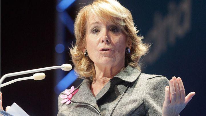 Esperanza Aguirre ganó con mayoría absoluta las elecciones a la Comunidad de Madrid en 2011