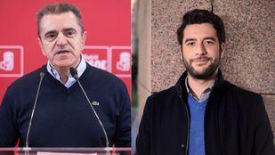 José Manuel Franco (PSOE) y César Zafra (Ciudadanos).