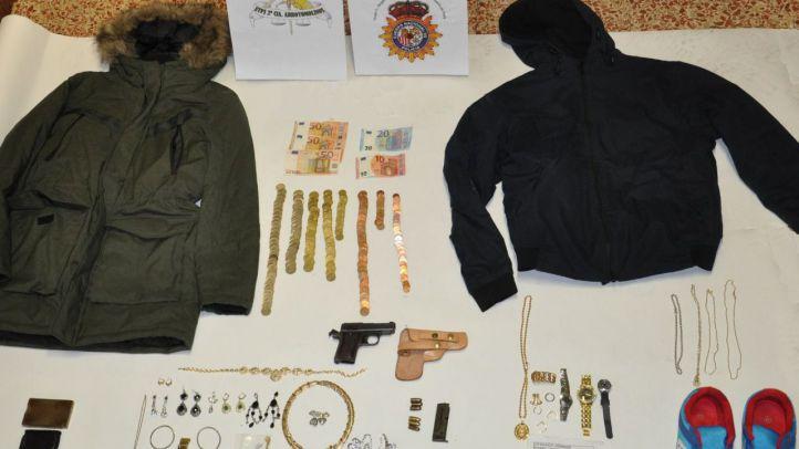 Detenido en Parla un preso fugado tras robar miles de euros