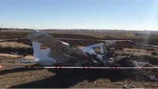Un accidente de avioneta en Quijorna deja dos muertos