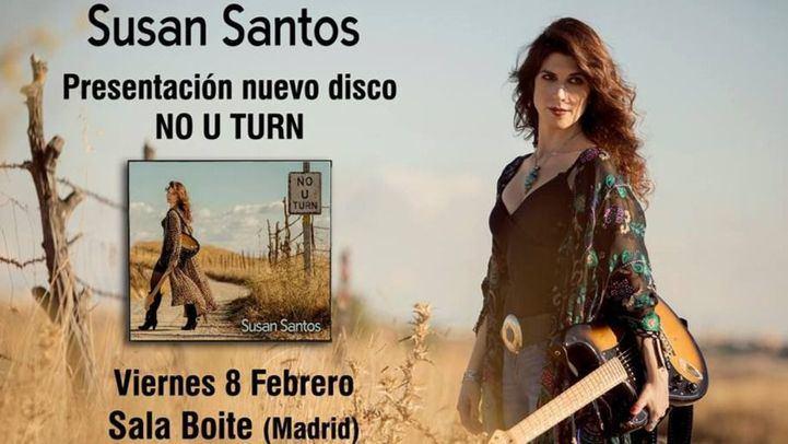 Susan Santos presentará este viernes su nuevo disco en directo