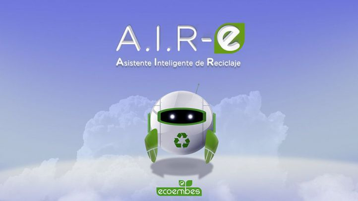 A.I.R-e, asistente de reciclaje creado por Ecoembes.
