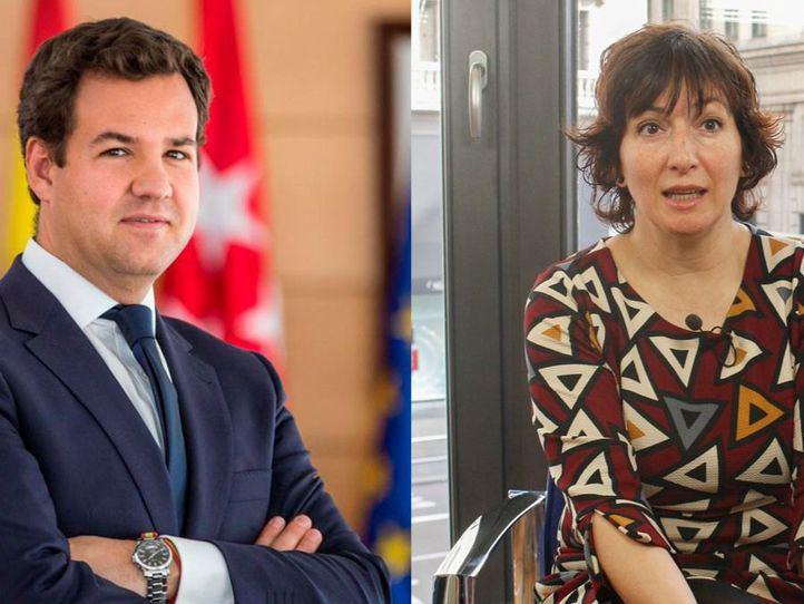 José de la Uz y Cati Rodríguez, debate de alcaldes en Onda Madrid