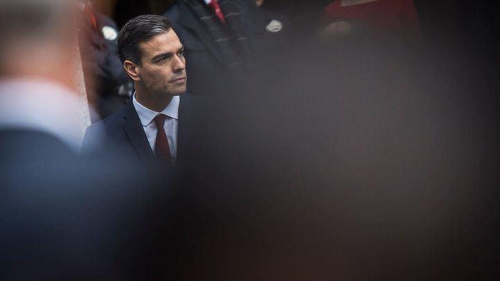 Casado, Rivera y Abascal han convocado a los ciudadanos a manifestarse contra Sánchez este domingo en Madrid.