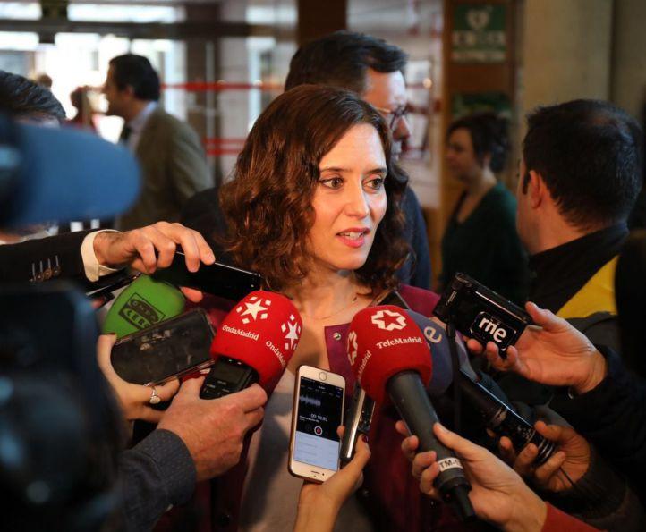 Díaz Ayuso protegerá la educación concertada en su programa electoral