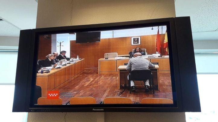 El exdirector de Seguridad de la Comunidad de Madrid, Sergio Gamón, en la Audiencia Provincial.