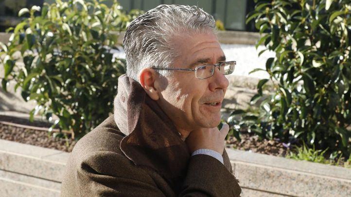 Francisco Granados, a su llegada a la Audiencia Provincial para declarar como testigo en el caso Espías