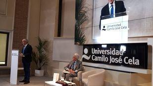 """La conferencia de Piqué inaugura el ciclo de seminarios """"Nuevo Escenario del Comercio Internacional. Cómo afecta a la Economía Española"""" de la Universidad Camilo José Cela."""