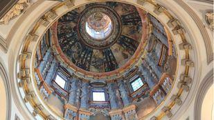 Cúpula de la Iglesia Santa María la Mayor en Alcalá de Henares.