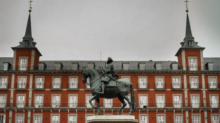 Los 400 años de la Plaza Mayor, en un video mapping 360º