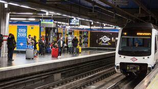 Las líneas impares de Metro, afectadas por los paros