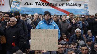 Los taxistas, de nuevo a la calle para manifestarse