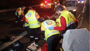 Fallece un hombre tras ser atropellado mientras cruzaba por la M-50