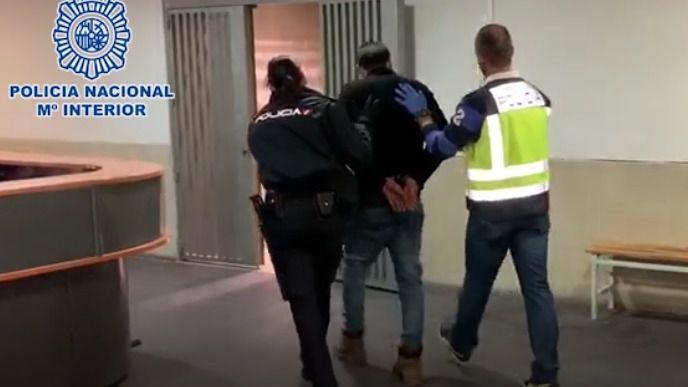 La Policía Nacional detiene a Manuel M.A.