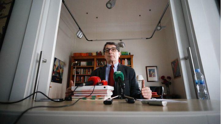 Presentación del programa político de Manuel de la Rocha, candidato a las primarias del PSOE-M.