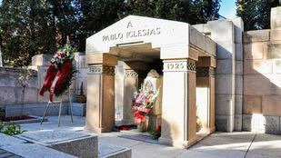 Profanan las tumbas de Pablo Iglesias y la Pasionaria