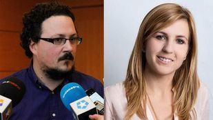 Los diputados de la Asamblea de Madrid Jacinto Morano (Podemos) y Ana Isabel Pérez Baos (PP)