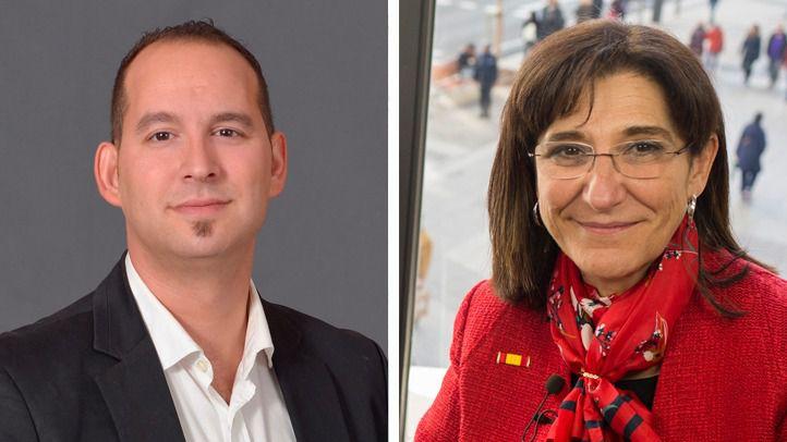 Serafín Faraldos y Susana Pérez Quislant, alcaldes de Valdemoro y Pozuelo