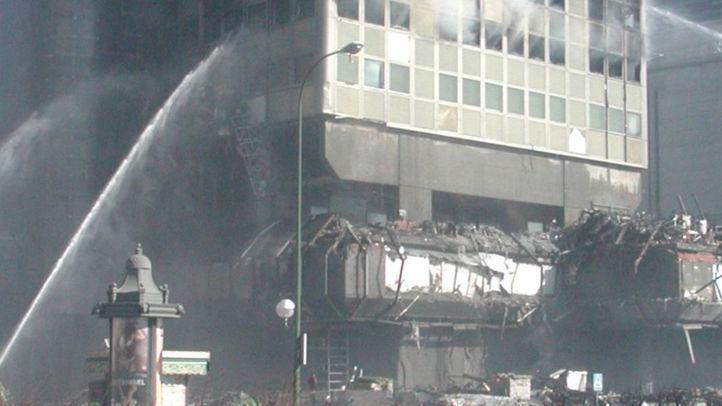 Incendio en el edificio Windsor.