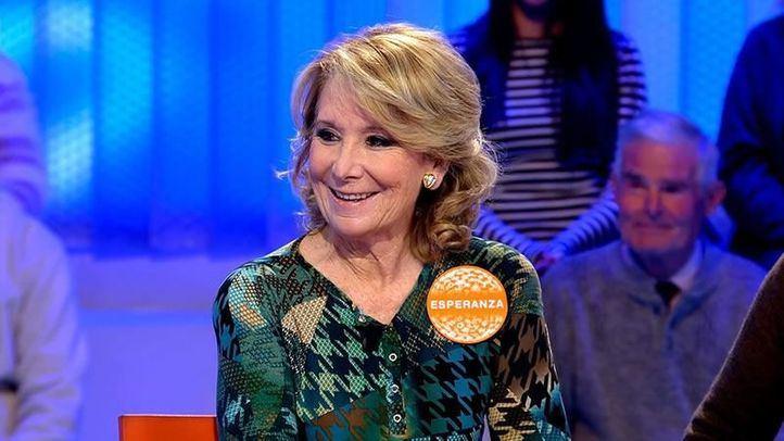 El comentado estreno de Esperanza Aguirre en Pasapalabra