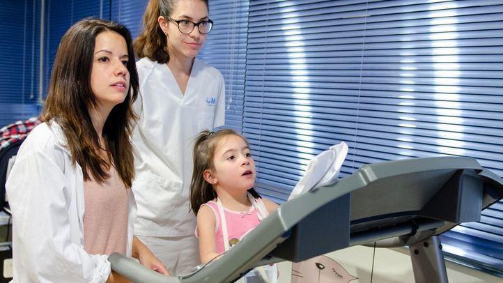 El Marañón estrena un pionero programa de rehabilitación para niños con cardiopatías y trastornos neuromotores