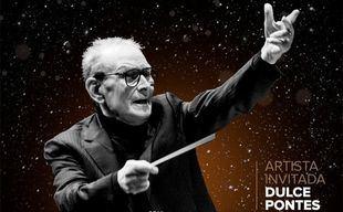 Cartel del concierto de Ennio Morricone en el Wizink Center.