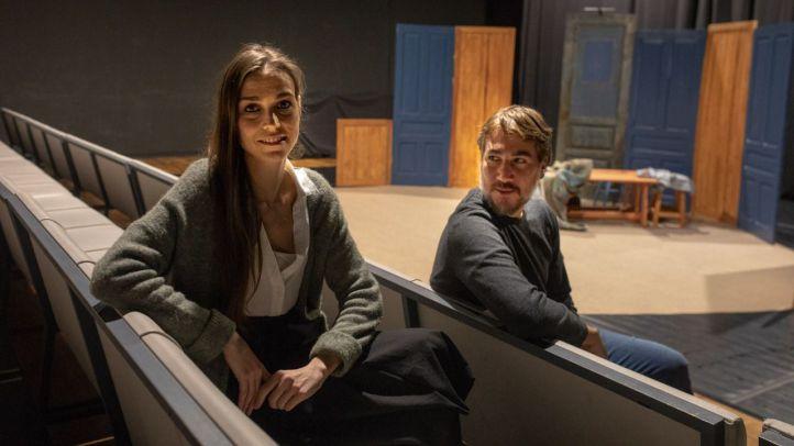 Los actores Alberto Ammánn y Clara Méndez-Leite arrancaron el Teatro de las Culturas en Lavapiés hace poco más de un año