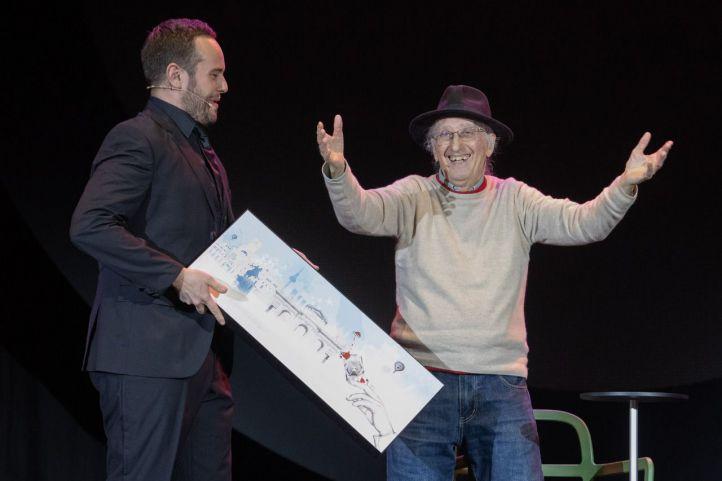 Juan Tamariz, premio a una vida de magia