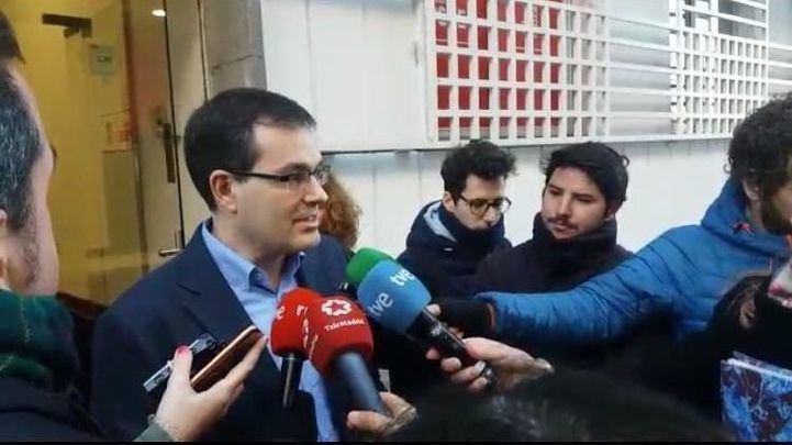 Chema Dávila, ha oficializado este jueves su candidatura a las primarias del PSOE al Ayuntamiento de Madrid.