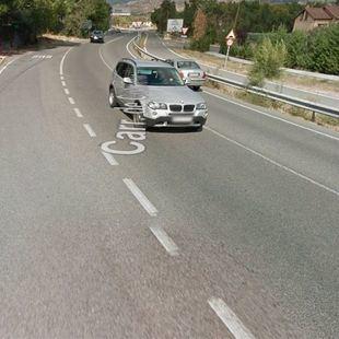 Lanza a su pareja desde una furgoneta en marcha en Colmenar Viejo