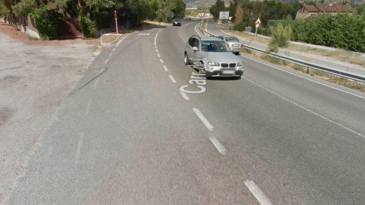 El suceso ha ocurrido a la altura del kilómetro 29 de la M-607, en Colmenar Viejo