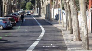 Ciudadanos asegura que los vecinos necesitan más las plazas de aparcamiento que el carril bici, que ven innecesario en una calle de estas características.