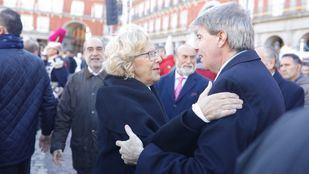 Manuela Carmena y Ángel Garrido, en una foto de archivo.