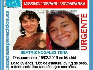 Desaparecida una mujer de 39 años, trabajadora del Hospital La Paz